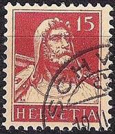 Schweiz Suisse Tell 1927: Zu 173 Mi 205 Yv 203 Mit Eck-Stempel SCHWYZ 19.II.?? (Zumstein CHF 9.00) - Used Stamps