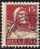 Schweiz Suisse Tell 1927: Zu 173 Mi 205 Yv 203 Mit Voll-Stempel SCHWYZ 24.V.35 (Zumstein CHF 9.00) - Used Stamps
