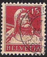Schweiz Suisse Tell 1927: Zu 173 Mi 205 Yv 203 Mit Stempel ZÜRICH 20.?.19?? SEIDENGASSE (Zumstein CHF 9.00) - Used Stamps