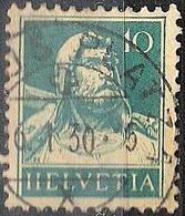 Schweiz Suisse Tell 1928: Zu 172 Mi 203 Yv 204 Mit Voll-Stempel DAVOS-PLATZ 6.I.30 (Zumstein CHF 0.25) - Used Stamps