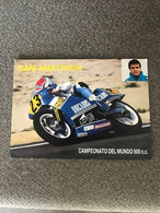 Carte MOTO GP - DANI AMATRIAIN - HONDA 500 CC - Motorcycle Sport