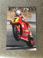 Carte   MOTO GP  - EDDIE LAWSON  - CAGIVA 500 CC - Motorcycle Sport