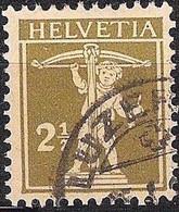 Schweiz Suisse 1927: Fils De Tell-Knabe Zu 169 Mi 198 Yv 199 Mit Eck-Stempel Von LUZERN (Zumstein CHF 5.00) - Used Stamps