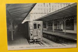 15366 - Paris Métropolitain Ligne No 2 Sud Etoile Italie Gare De Passy - Metro, Estaciones