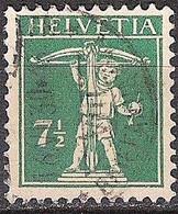 Schweiz Suisse 1927: Fils De Tell-Knabe Zu 171 Mi 202 Yv 197 Mit Stempel Vom 16.VI.30 BRIEFANNAHME (Zumstein CHF 7.00) - Used Stamps