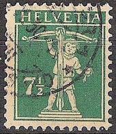 Schweiz Suisse 1927: Fils De Tell-Knabe Zu 171 Mi 202 Yv 197 Mit Stempel WINTERTHUR ?.X.30 (Zumstein CHF 7.00) - Used Stamps