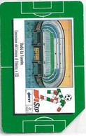 Italia '90 - Gli Stadi (Palermo) - Lire 5.000 - Sc. 31.12.1991 - Man - Cat. Golden 72 - Public Ordinary