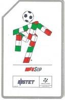 Italia '90 - La Mascotte Ciao - Lire 10.000 - Sc. 31.12.1991 - Man - Cat. Golden 79 - Public Ordinary