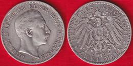 "Germany / Prussia 2 Mark 1893 Km#522 AG ""Wilhelm II"" - 2, 3 & 5 Mark Silber"