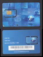Tunisia/Tunisie 2017 - Phonecard - SIM Card - Tunisie Telecom - TT - Superb*** - Tunesië