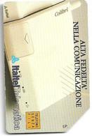 Italtel - Alta Fedeltà Nella Comunicazione - Lire 5.000 - Sc. 30.06.1992 - Man - Cat. Golden 98 - Public Ordinary
