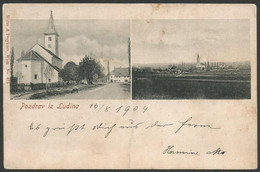 Croatia-----Ludina-----old Postcard - Kroatien