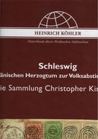 ! Sonderkatalog Sammlung Christopher King Teil 1, Schleswig 1587-1920, 80 S., Auktionshaus Heinrich Köhler - Collections