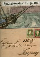 ! Auktionskatalog Helgoland, Heligoland, 71 Seiten, Auktionshaus Rauhut & Kruschel - Héligoland