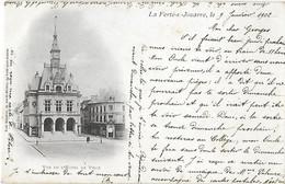 77 Seine Et Marne - La FERTE Sous JOUARRE - CPA - Vue De L'Hôtel De Ville - Cad Meaux Charly - 1902 - - La Ferte Sous Jouarre