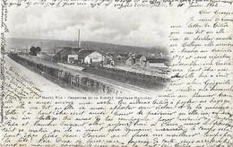77 Seine Et Marne - La FERTE Sous JOUARRE - CPA Haute Vue Chantiers Société Générale Meulière - Cad Gare De Meaux 1902 - La Ferte Sous Jouarre