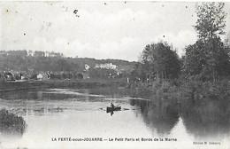 77 Seine Et Marne - La FERTE Sous JOUARRE - CPA - Petit Paris Et Bords De Marne - Cad La Ferté Sous Jouarre 07 08 1907 - La Ferte Sous Jouarre