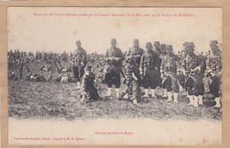 Revue Du 20e Corps Par Le Général Bailloud 1906 Sur Le Plateau De Malzéville - Manoeuvres