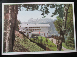 Postkarte Berghof Obersalzberg Haus Wachenfeld Berchtesgaden Photo-Hoffmann München - Brieven En Documenten