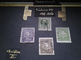 Ensemble Philatélique DANEMARK 1907-1924 - Gebraucht