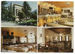 """CPSM 74    SAINT GERVAIS LES BAINS   1974    HOTEL RESTAURANT """"LES CAPUCINES"""" - Hoteles & Restaurantes"""
