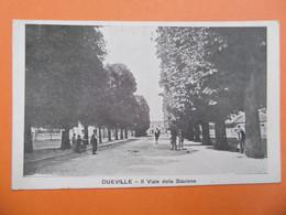 DUEVILLE  ( VINCENZA ) Il Viale Della Stazione - Altre Città