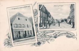 Gruss Aus SAARALBEN Carte Pionnière Moselle 57 - Sarralbe