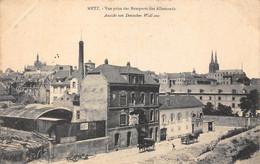 57-METZ- VUE PRISE DES REMPARTS DES ALLEMANDS - Metz