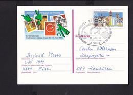RK1.7 /  BRD Ganzsache Bildpostkarte  Messe Essen 1986  / SST - Cartes Postales Illustrées - Oblitérées
