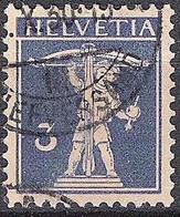 Schweiz Suisse 1930: Fils De Tell-Knabe Zu 182 Mi 199 Yv 241 Mit Stempel BRIEFVERSAND ?.X.30 (Zumstein CHF 12.00) - Used Stamps