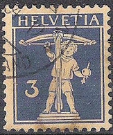 Schweiz Suisse 1930: Fils De Tell-Knabe Zu 182 Mi 199 Yv 241 Mit Stempel .34 BRIEFVERSAND (Zumstein CHF 12.00) - Used Stamps