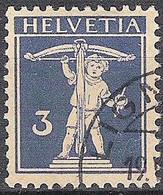 Schweiz Suisse 1930: Fils De Tell-Knabe Zu 182 Mi 199 Yv 241 Mit Eck-Stempel LIGNIÈRES 19.V.3? (Zumstein CHF 12.00) - Used Stamps