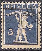Schweiz Suisse 1930: Fils De Tell-Knabe Zu 182 Mi 199 Yv 241 Mit Eck-Stempel  2 (Zumstein CHF 12.00) - Used Stamps