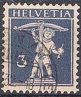 Schweiz Suisse 1930: Fils De Tell-Knabe Zu 182 Mi 199 Yv 241 Mit Stempel  UETIKON AM SEE .32  (Zumstein CHF 12.00) - Used Stamps