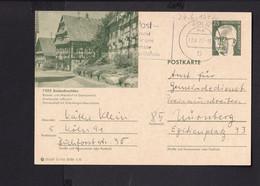 RK1.7 /  BRD Ganzsache Bildpostkarte  Sasbachwalden 1972 /  Stempel Köln - Cartes Postales Illustrées - Oblitérées