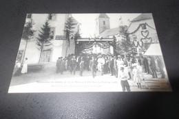 Inauguration Du Chemin De Fer De Morteau àTrevillers.arrivée Des Officiels.RRR - Andere Gemeenten