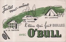 Buvard O,Bull L'eau Qui Fait Des Bulles - Faites Vous Mêmes à La Maison En Voyage En Camping C'est Un Produit Dagbar - Sprudel & Limonade