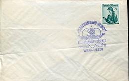 66505 Austria, Special Postmark Wien 1958  Muttertag 1958,   St. Gabriel - 1945-60 Cartas