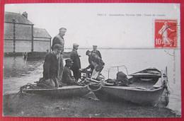 POSES  -  Inondation  -  Février 1910  -  Vente De Viande  -  Eure  -  27 - Autres Communes