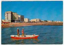 CAORLE - SPIAGGIA DA PONENTE - VENEZIA - 1971 - Venezia