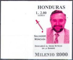 0470.1 ✅ Medicine Artz Science 1999 Honduras 1v ** MNH Colour Proof - Medicina