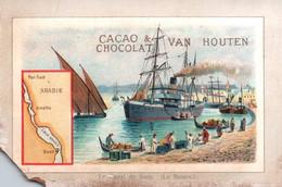 CACAO VAN HOUTEN / LE BASSIN DU CANAL DE SUEZ - Van Houten