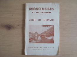DEPLIANT TOURISTIQUE MONTARGIS ET SES ENVIRONS 1946 - Toeristische Brochures