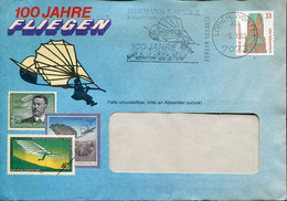66513 Germany  Special Postmark 1992 Lorch,  Showing Hang Gliding,Drachenfliegen,deltaplane - Andere (Lucht)