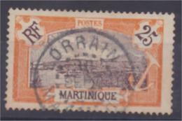 Cachet LORRAIN Martinique N° 96 1922-25 - Ohne Zuordnung