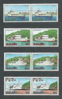 Malawi, 1985 (#449-52t), Ships Of Lake Malawi, Navíos, Navires, Navi, Schiffe, Navios, Statki, Transport, Trasporto - Boten
