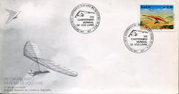 66529 Brasil, Fdc 1991  Showing Hang Gliding,Drachenfliegen,deltaplane - Andere (Lucht)