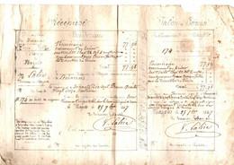 COLONIE DE MAYOTTE . 1847. RECEPISSE DE PAIEMENT - Documents Historiques