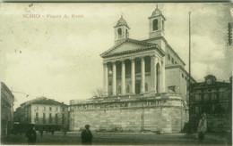 SCHIO ( VICENZA ) PIAZZA A. ROSSI - EDIZIONE G. MIOLA & CO. - SPEDITA 1919 (7952) - Vicenza
