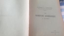 MORBIHAN VANNES/PROMENADE  ARCHEOLOGIQUE A BUBRY .AVENEAU DE LA GARANCIERE - 1901-1940